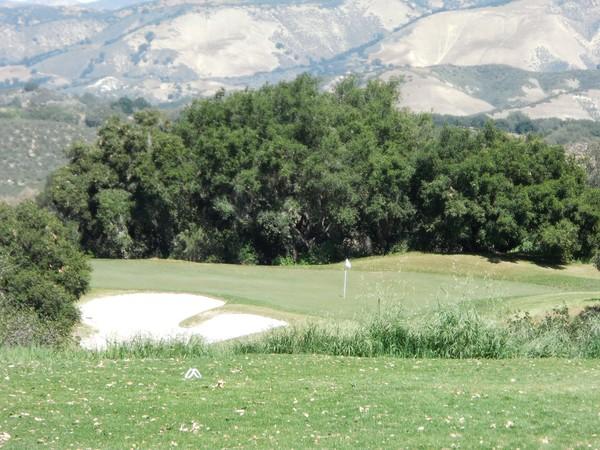 Rancho San Marcos Golf Course Santa Barbara California Hole 14 Par 3