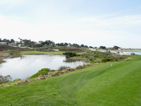 Spanish Bay Golf Links Pebble Beach, California. Hole 8