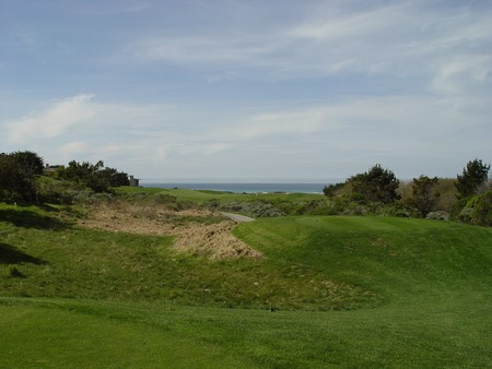 Spanish Bay Golf Links Pebble Beach California Hole 14