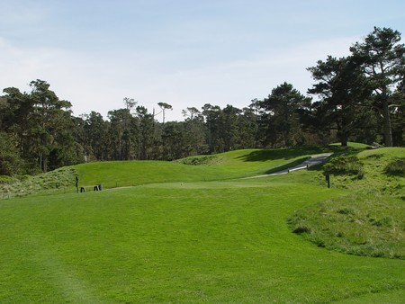 Spanish Bay Golf Links Pebble Beach California Hole 15