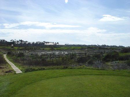 Spanish Bay Golf Links Pebble Beach California Hole 17 Tee Box
