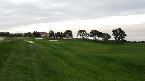 Trump National Golf Club Rancho Palos Verdes, California Hole 3