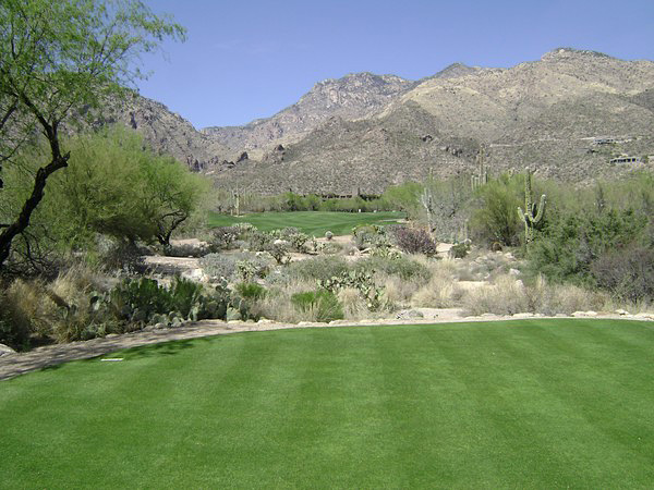 The Lodge at Ventana Canyon Tucson Arizona Hole 18 Tee-Box