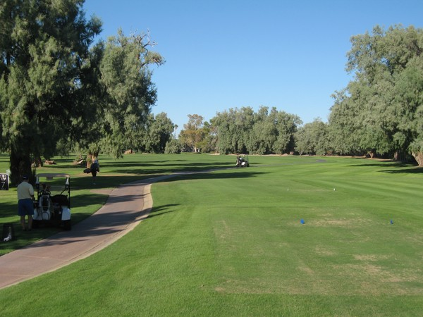 San Marcos Golf Resort Chandler Arizona, Hole 7 Par 4
