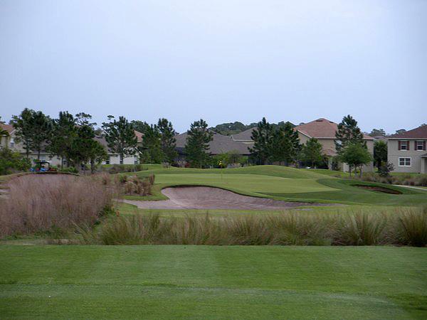 Eagle Creek Golf Club Orlando Florida. Hole 8 Par 3