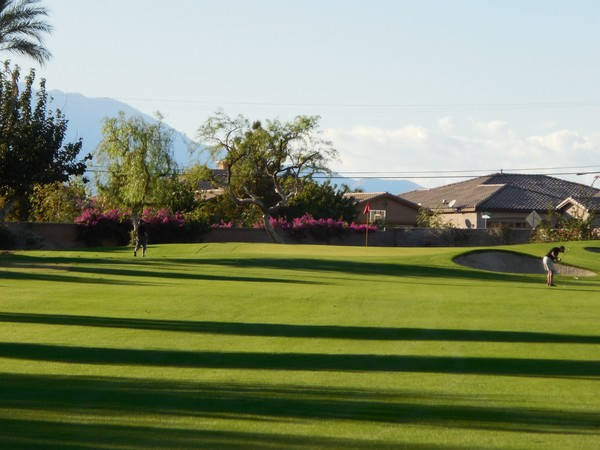 Indian Springs Golf Club Indio California Hole 11