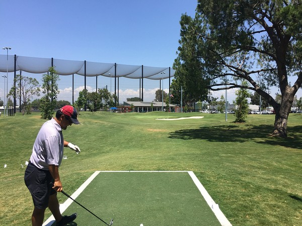 Don Knabe Golf Center & Junior Academy Norwalk California Hole 9