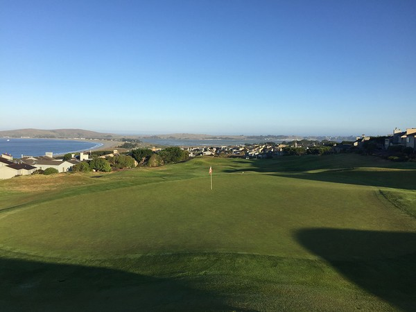The Links at Bodega Harbour Bodega Bay California Hole 1 Par 4