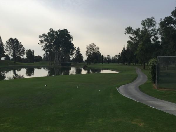 Alhambra Golf Coruse Alhambra California Hole 2 Par 5