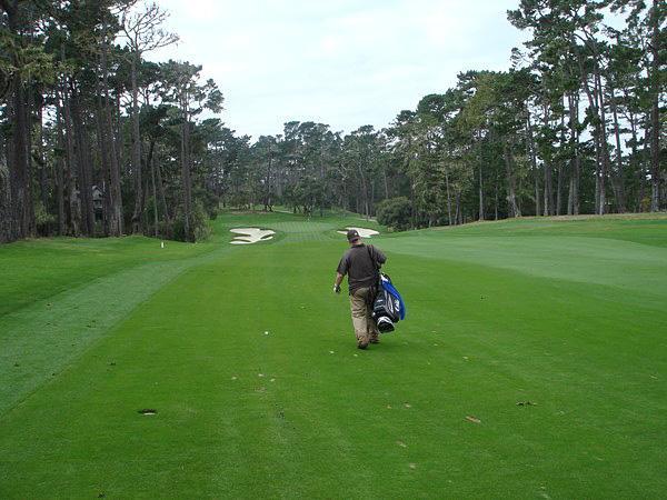 Spyglass Hill Golf Course Pebble Beach, CA Hole 16 Approach
