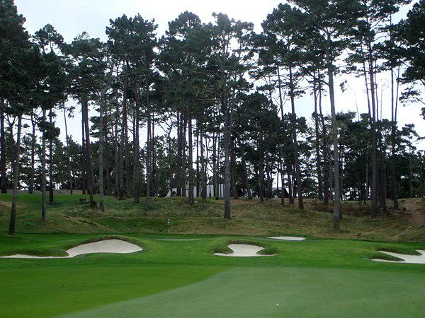 Spyglass Hill Golf Club Pebble Beach, California Hole 17