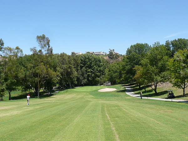 Anaheim Hills Golf Course Anaheim California Hole 6 Approach