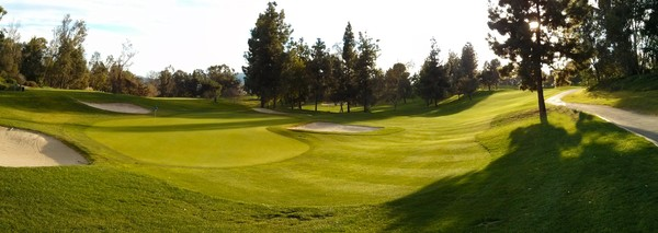 Industry Hills Golf Club (Eisenhower) City of Industry California. Hole 16