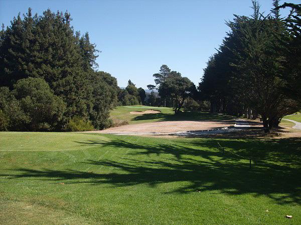 De Laveaga Golf Course Santa Cruz California Hole 15 Tee Box
