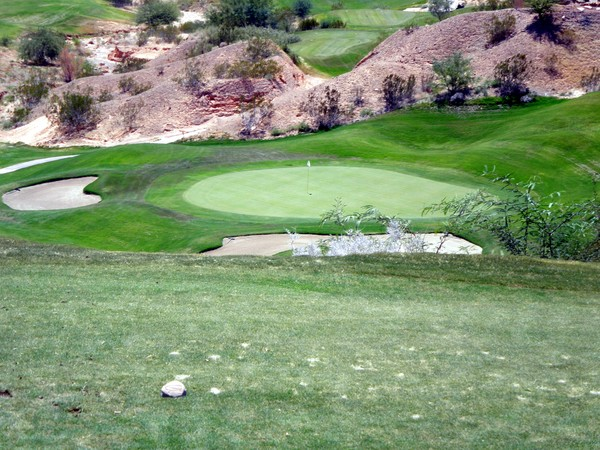 The Oasis Golf Club (The Canyons) Mesquite Nevada Hole 17