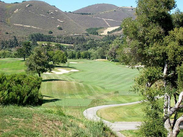 Carmel Valley Ranch Resort Carmel California Hole 15
