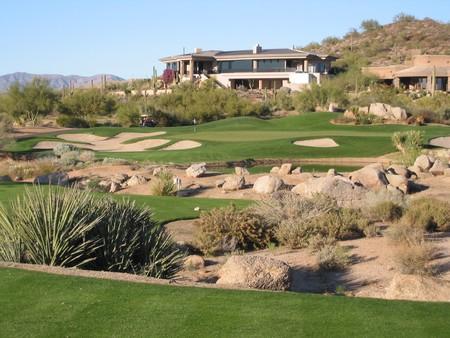 Troon North Golf Club PINNACLE Course Scottsdale Arizona Hole 16 Par 3