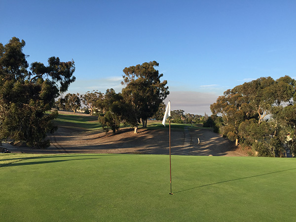 Goat Hill Park Golf Course Oceanside, California
