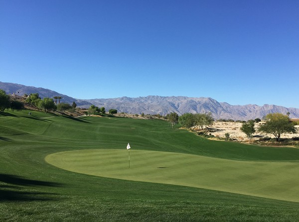 Rams Hill Golf Club Borrego Springs California. Hole 8, Par 4