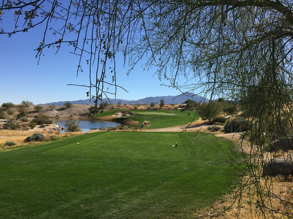 Rams Hill Golf Club Borrego Springs California. Hole 3 Par 3