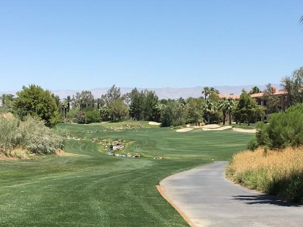 Marriott's Shadow Ridge Resort Palm Desert California. Hole 18