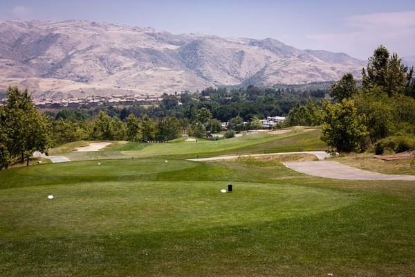 Glen Ivy Golf Club Glen Ivy California Hole 1 Tee