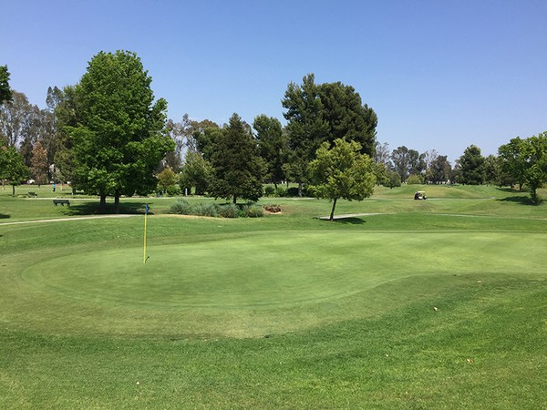 Rio Hondo Country Club Downey California Hole 1 Green-side