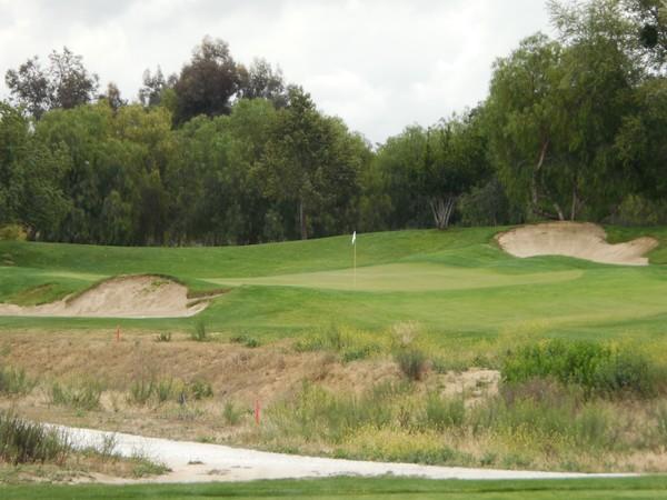 Morongo Golf Club Tukwet Canyon Beaumont California. Hole 12 Par 3