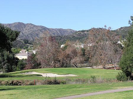 Marshall Canyon Golf Course La Verne California Hole 16 par 3