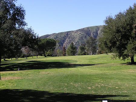 Marshall Canyon Golf Course La Verne California Hole 18 Par 4