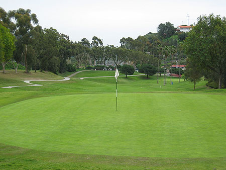 San Clemente Golf Course San Clemente California. Hole 14
