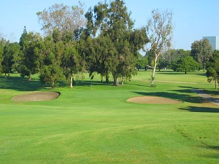 Recreation Park Golf Course Long Beach California Hole 8