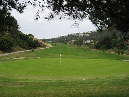 Shorecliffs Golf Club - Hole 12 view from greenside