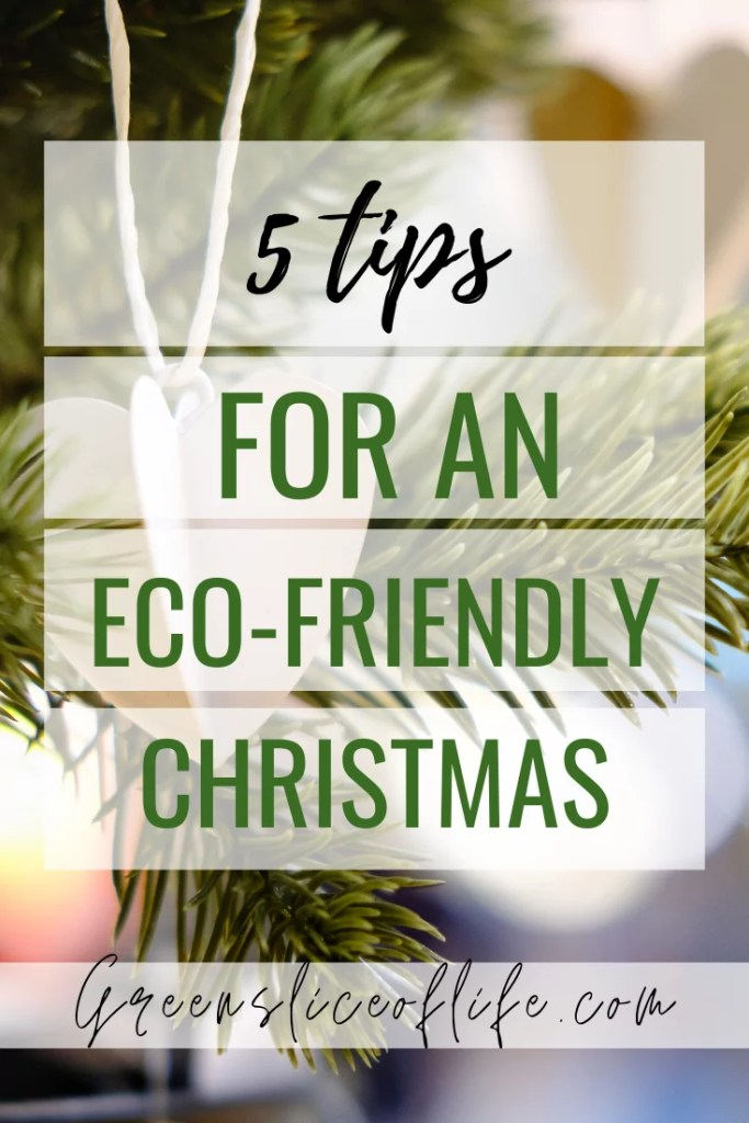 5 tips for an eco-friendly Christmas