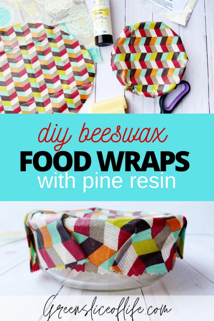 Food Wraps with Pine Resin