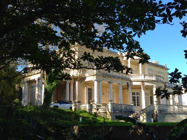 Der Palacete Leitão: Ein nobles Anwesen im alt-portugiesischen Stil erbaut.