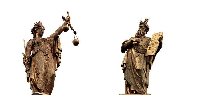 Sowohl die Einhaltung von Geboten sowie der Regeln der Gerechtigkeit setzen ein Pflichtgefühl voraus.