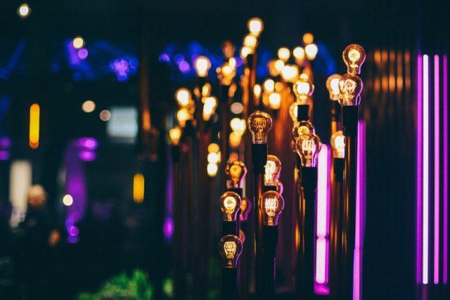 Eine Glühbirne für jedes Talent: Arbeitsteilung und Spezialisierung schaffen Berufe und Gewerbe (Photo by Mohammad Saifullah on Unsplash).