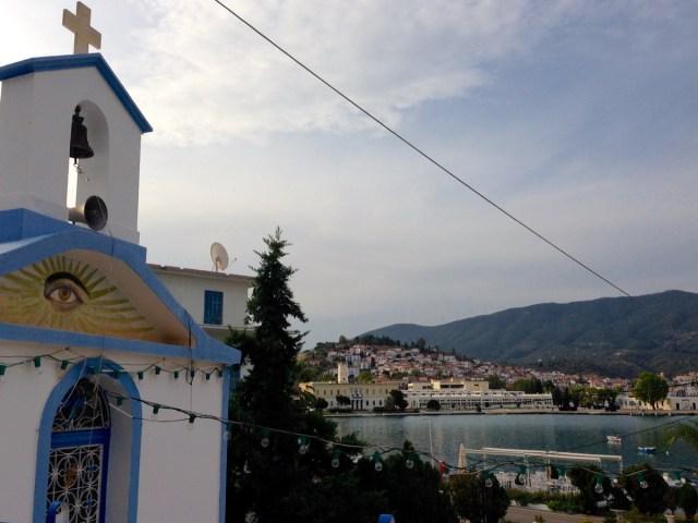 Diesem Blick kann ich leider nicht entgehen... (Poros, Griechenland, September 2020).