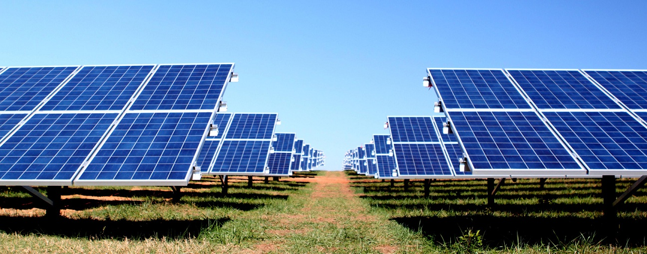 Image result for photo of a solar farm