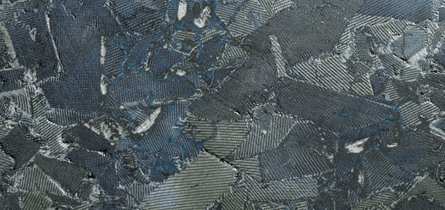 Torzo Denim surfacing material using recycled denim