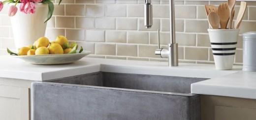 native trails concrete nativestone farmhouse sink with renewable vegetable fiber reinforcement