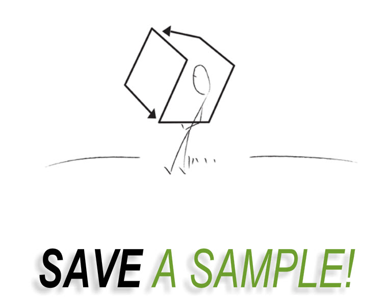 Save A Sample!