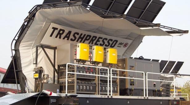 Miniwiz Co. Trashpresso