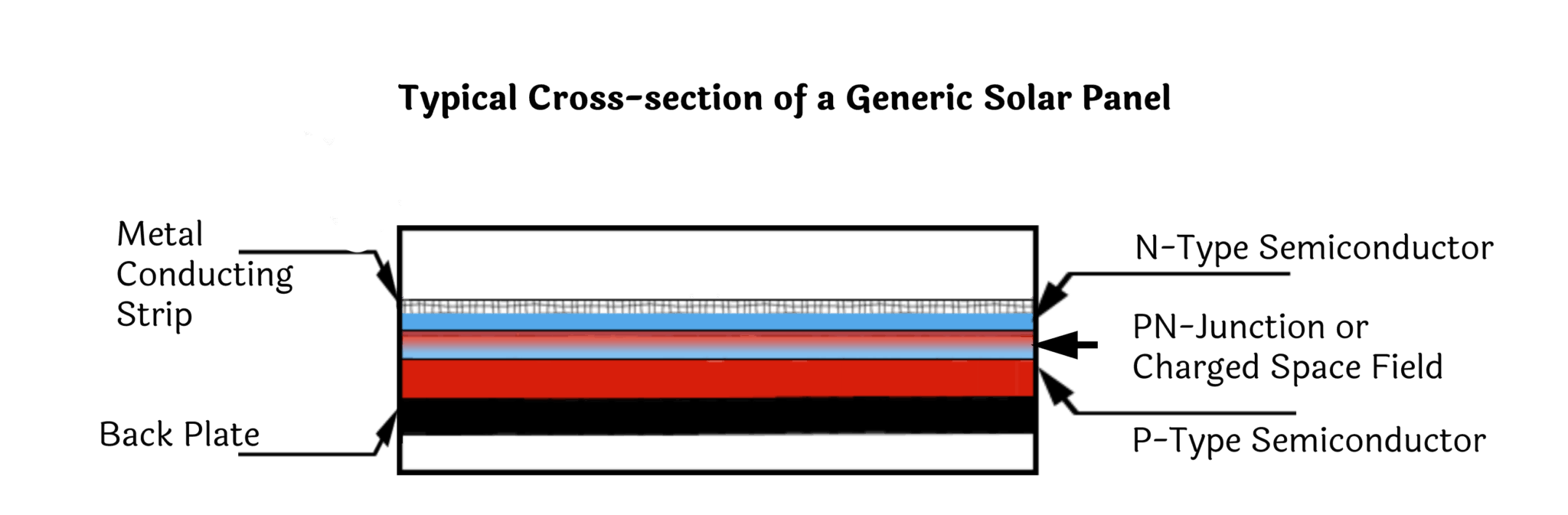 Cross-section of a Solar Cell