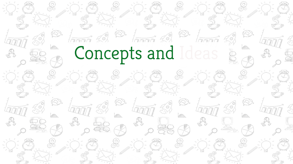 Concepts & Ideas | Greensutra