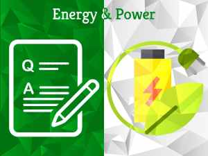 Energy & Power | Question Category | Experts Corner | Greensutra | India