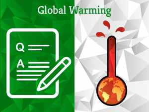 Global Warming | Question Category | Experts Corner | Greensutra | India