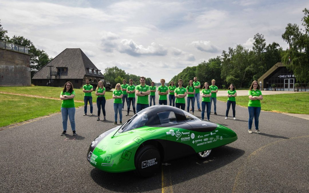 World Champion Green Team Twente unveils one of the most efficient hydrogen cars in the world