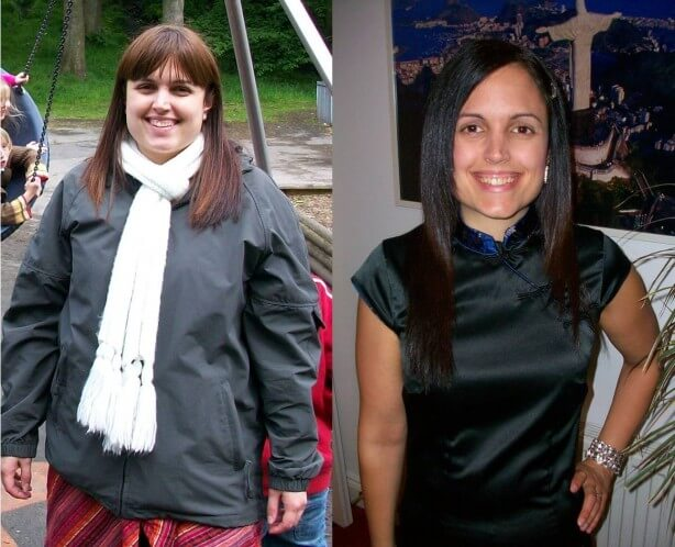 Before and after photos on the 7 day diet plan for weight loss